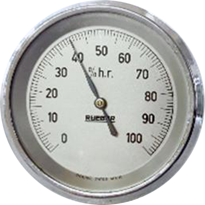HUX065M/202 QS - Hygrometer for domestic applications