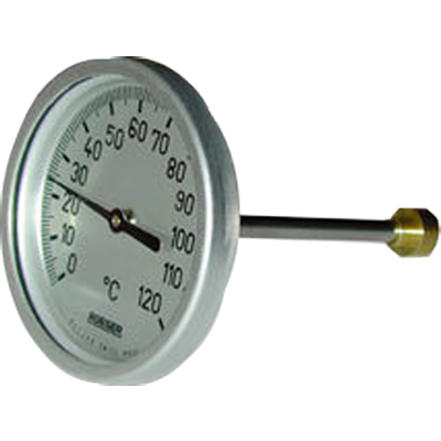 TCH Heating QS - Bimetallic thermometer for heating